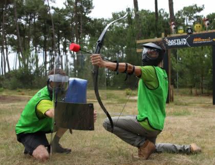Activités de plein air Battle d'archery