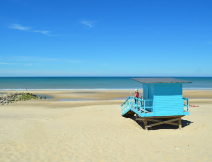 Cabane plage Montalivet - Médoc Atlantique