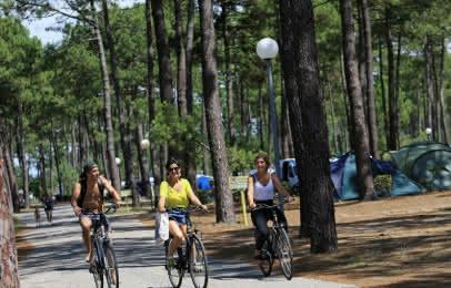 Vélo Médoc Atlantique - camping campeole