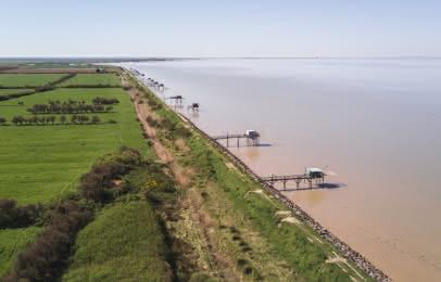 Carrelets estuaire Médoc