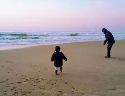 Les marées à Carcans Plage