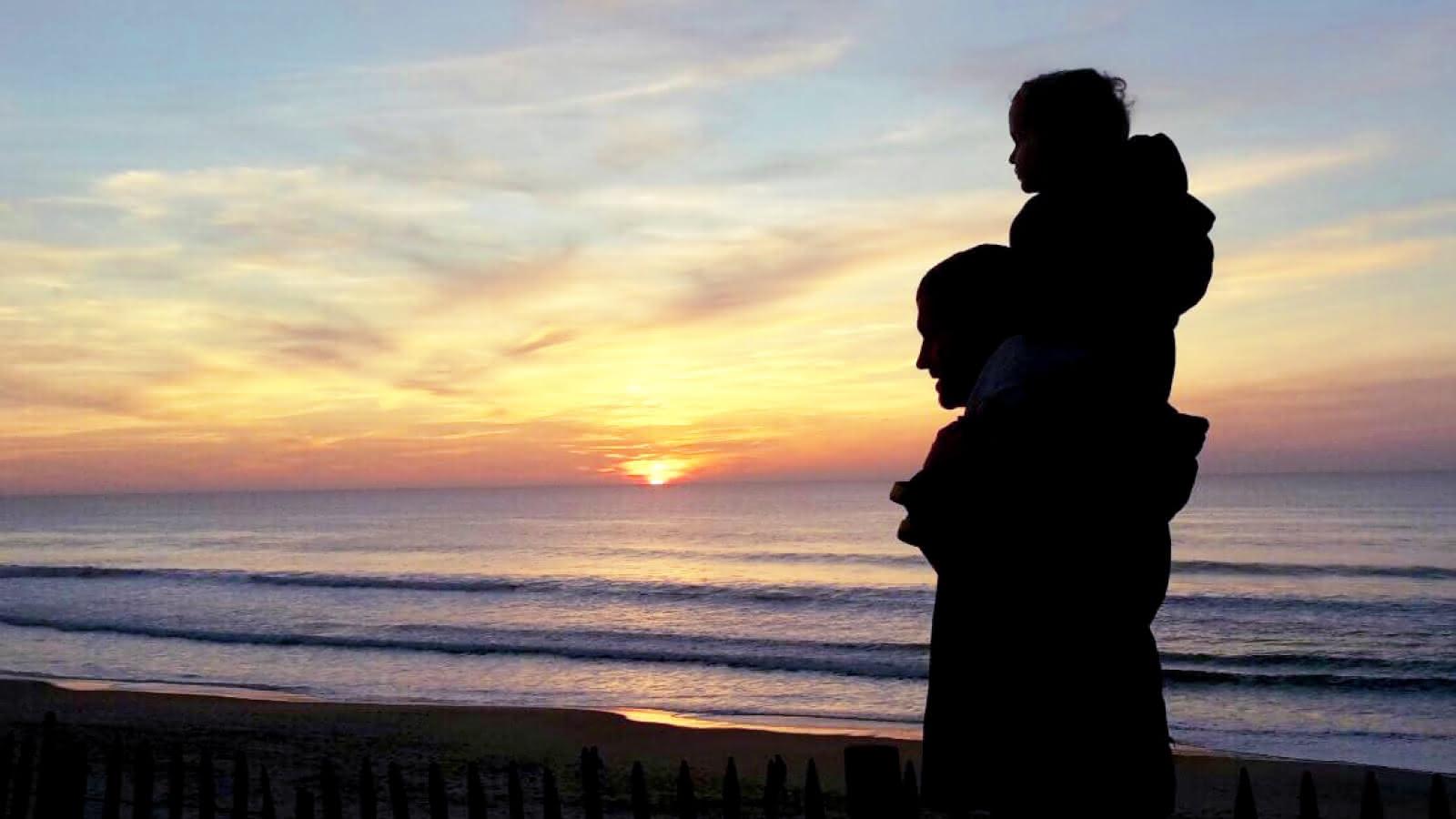Coucher de soleil Carcans Plage - © Médoc Atlantique
