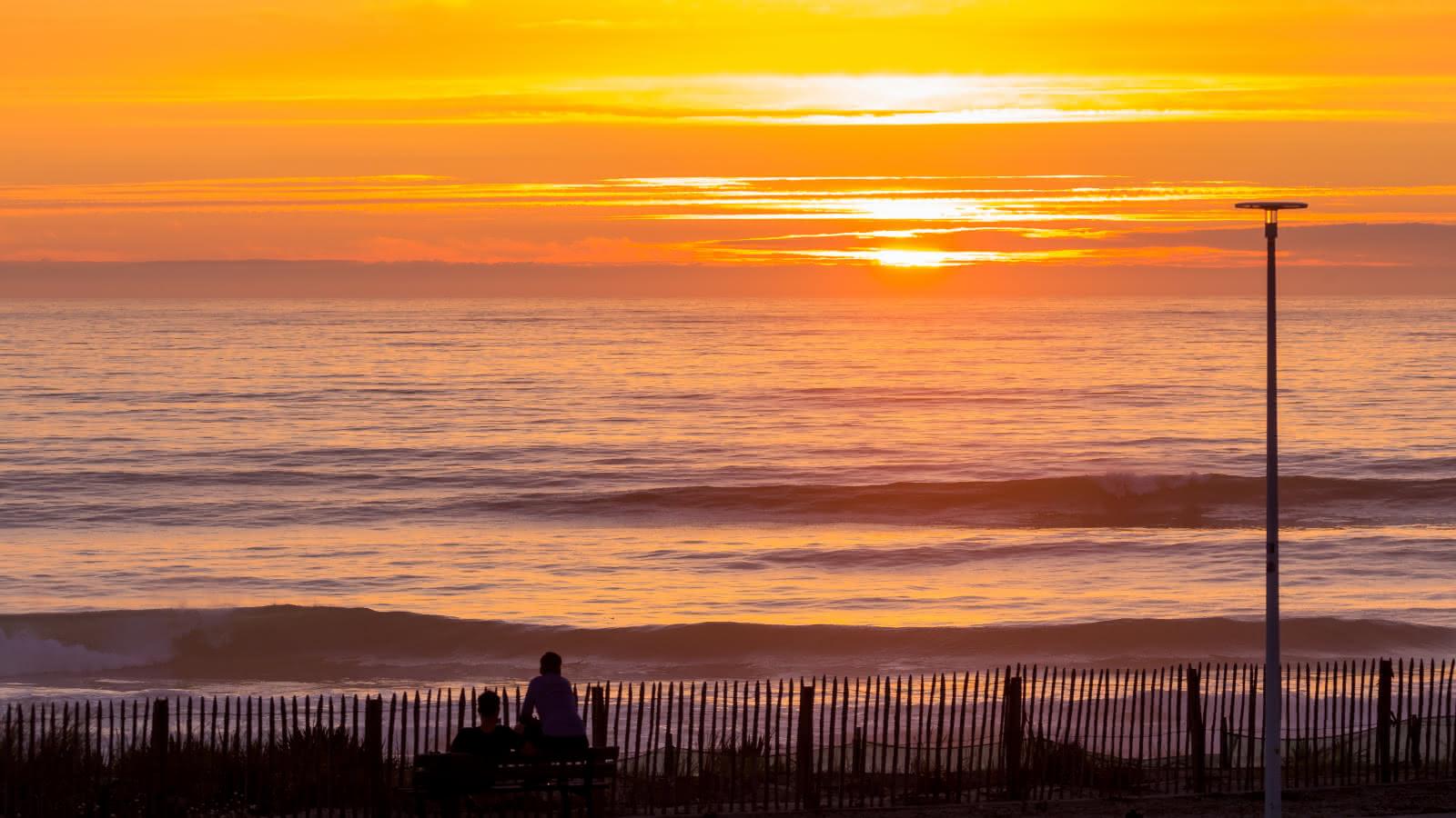 Coucher de soleil océan 2 - © Naturaglisse Picture Mathieu Reveillas