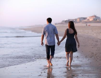 Vacances en Couple plage