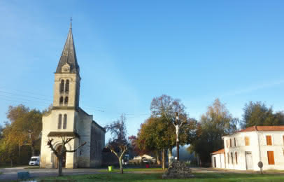 Eglise Naujac-sur-Mer - © Médoc Atlantique