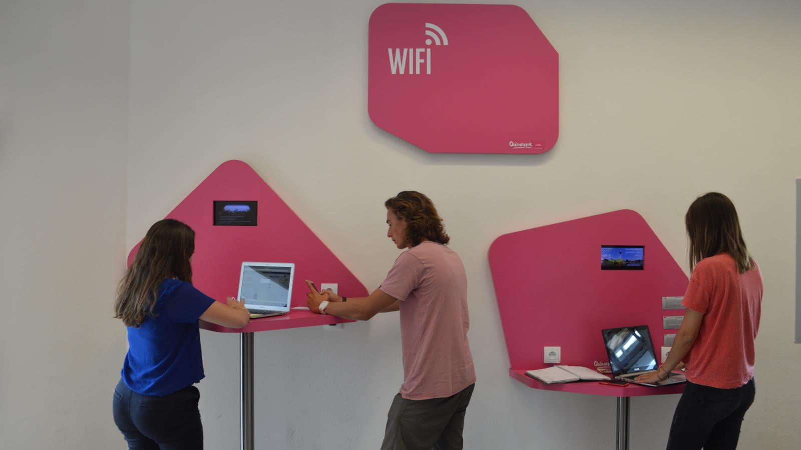 espace wifi médoc Atlantique