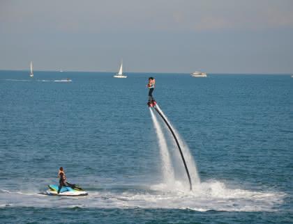 flyboard estuaire gironde