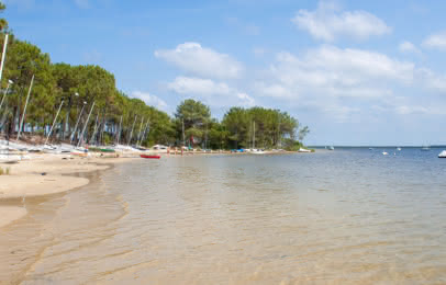 Lac Maubuisson - © Médoc Atlantique