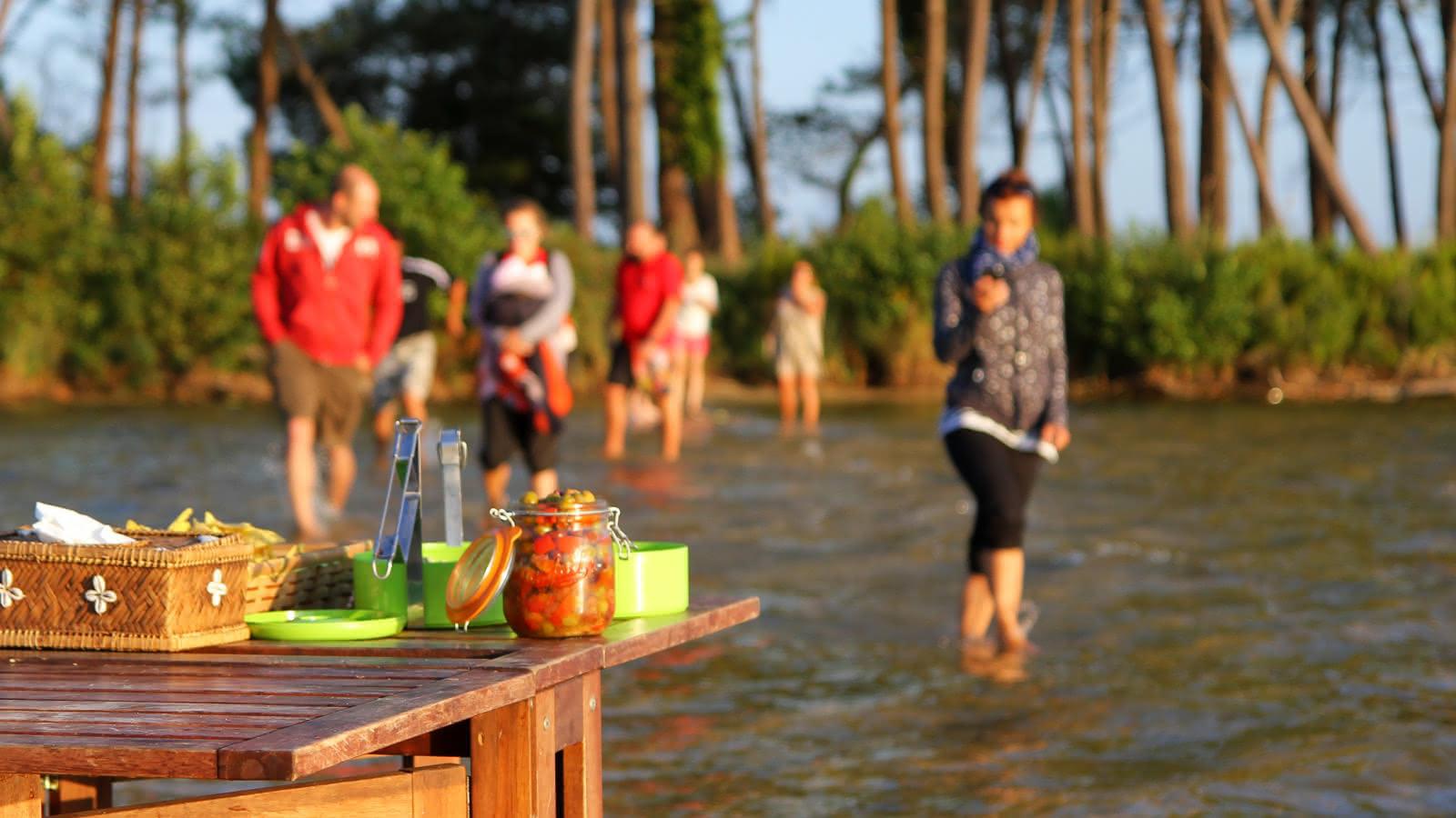 Profiter du lac à Lacanau - (C) Djé - 1moment 1 image