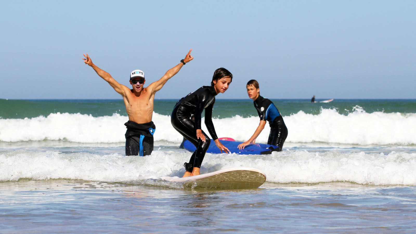 surf enfants médoc