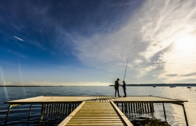 Pêche lacs médoc