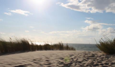 Plage le Verdon-sur-Mer Médoc Atlantique