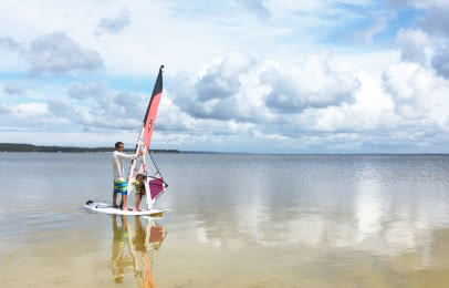Planche à voile Carcans © Médoc Atlantique