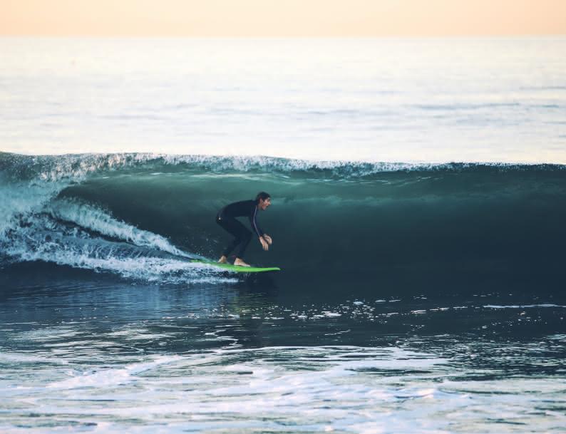 Surfeur Lacanau