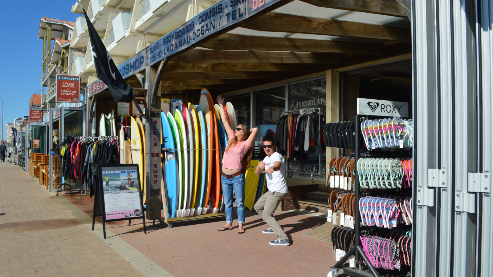 Shopping - surf city - surfshop