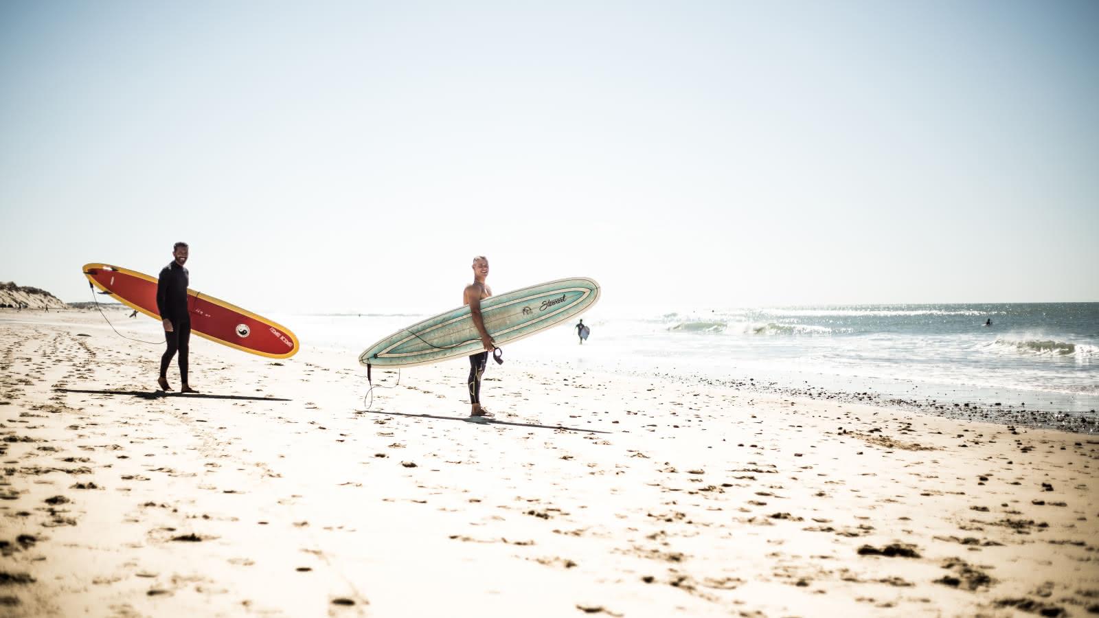 Surfeur © Greg Bronard - Médoc Atlantique