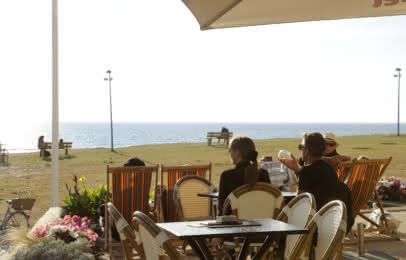 terrasse en front de mer Montalivet