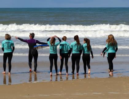 cours de surf enfants Lacanau