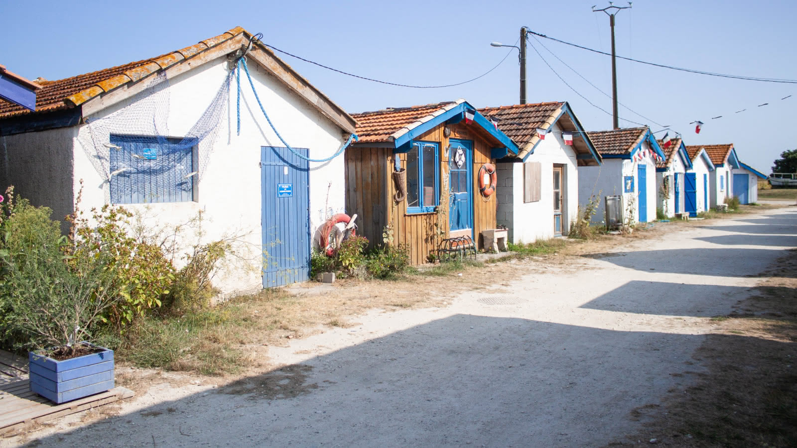 Cabanes port de Talais