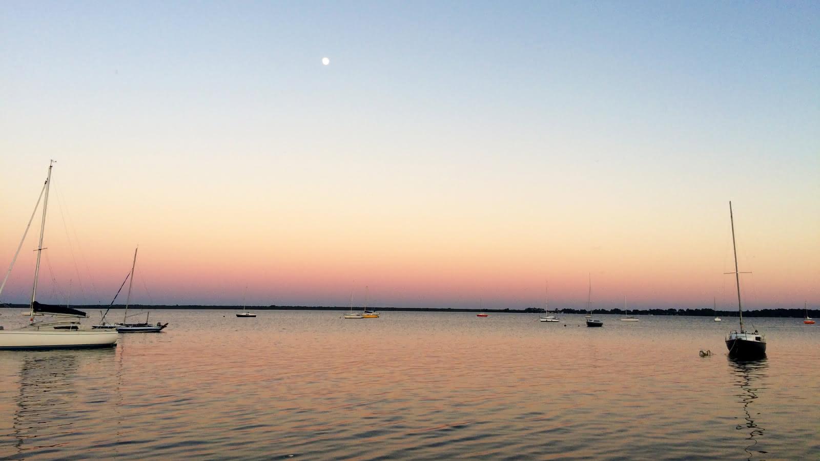 Coucher de soleil Lac - © Médoc Atlantique