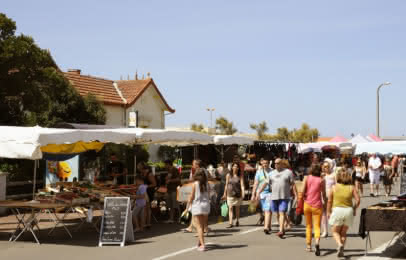 Marché de Vendays-Montalivet - Médoc Atlantique