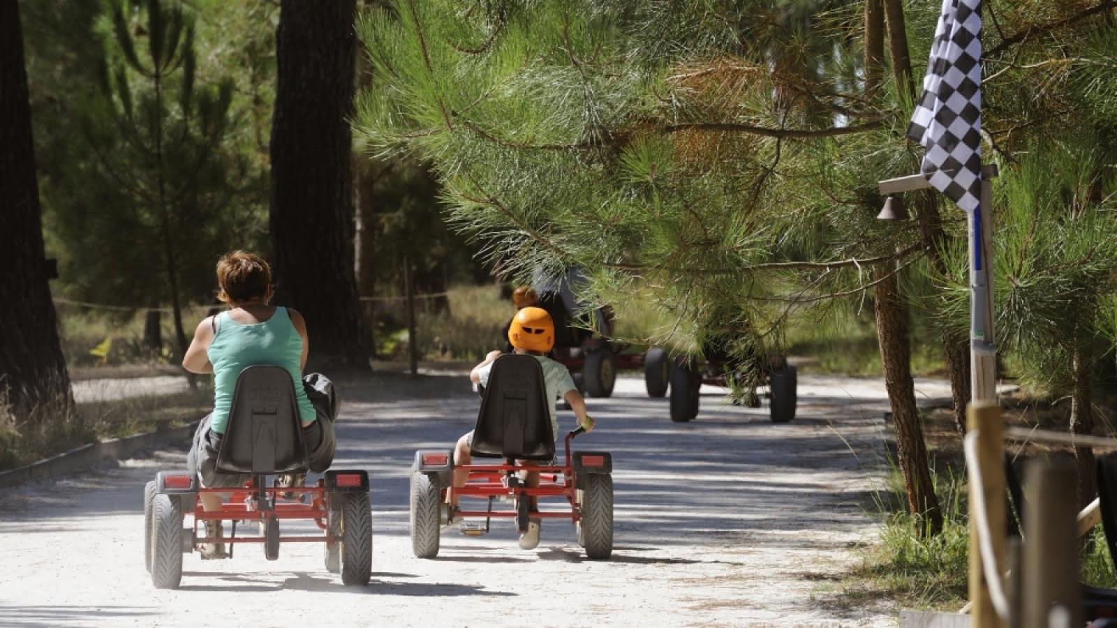 Kart à pédales Parc de l'aventure