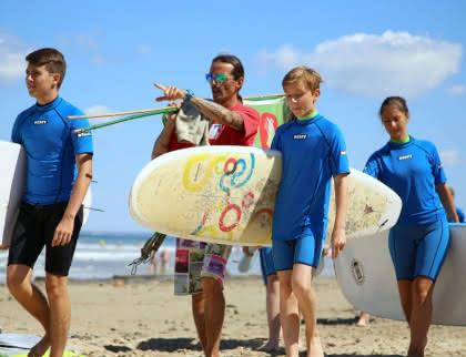 école de surf activités soulac