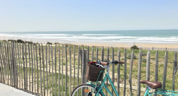 Vélo Lacanau océan (C) Médoc Atlantique