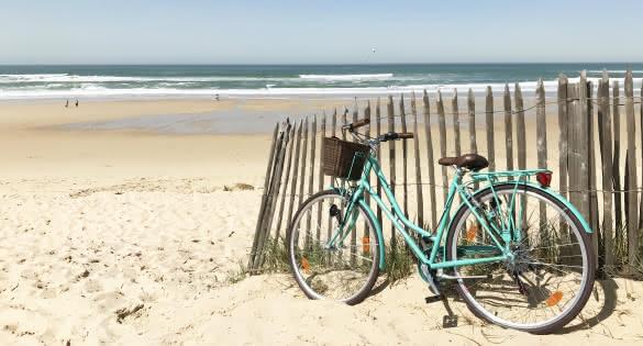 Vélo Plage Médoc Atlantique - Lacanau