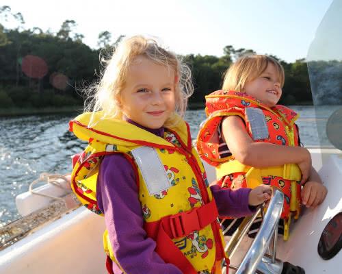 Balade en bateau Lac d'hourtin