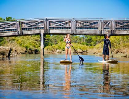 Balade en paddle - G. Cassiau