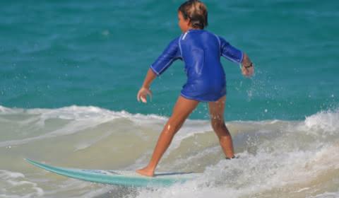 enfant surf