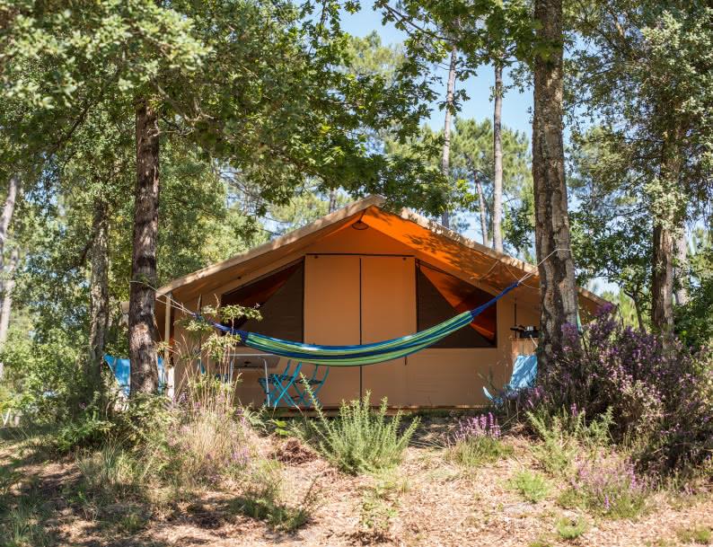 Camping Huttopia Hébergements insolites Médoc Atlantique