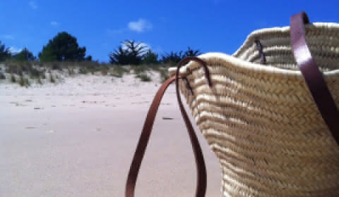 Sac plage Médoc Atlantique