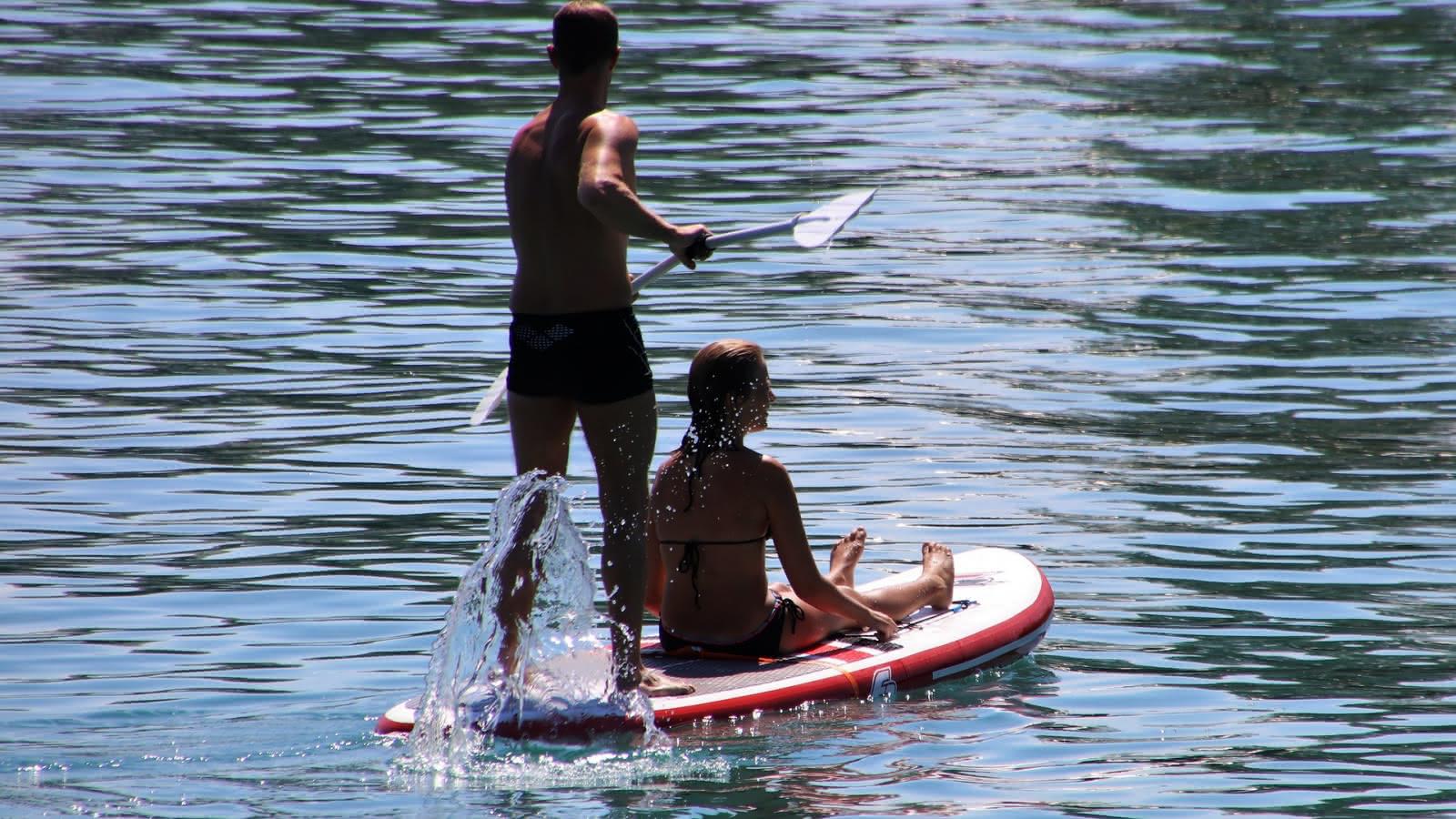 Stand Up Paddle lacs du Médoc