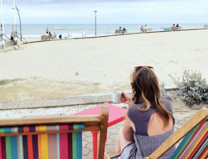 Terrasse front de mer à Vendays-Montalivet - (C) Médoc Atlantique