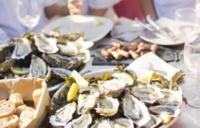 Dégustation d'huîtres Arcachon Cap Ferret - S. Cottereau