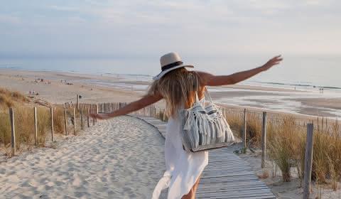 © Isabelle Magendie Shopping de vacances Vacances au bord de l'océan