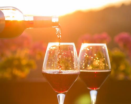 verre de vin médoc