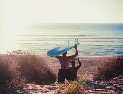 surf plage du Pin sec