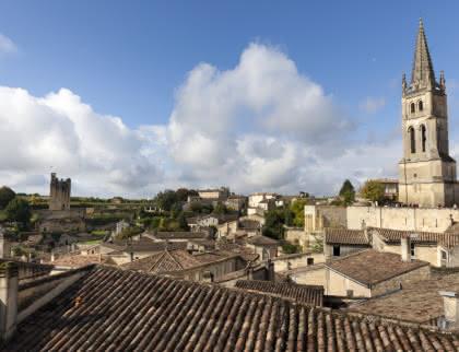 Vue générale Saint Emilion