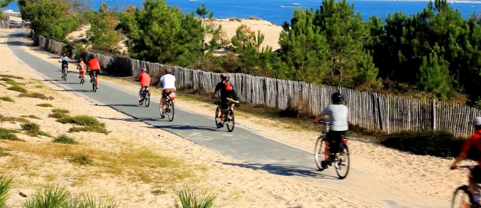 Vélodyssée - Bassin aux Landes
