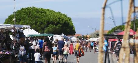 Marché de Vendays-Montalivet