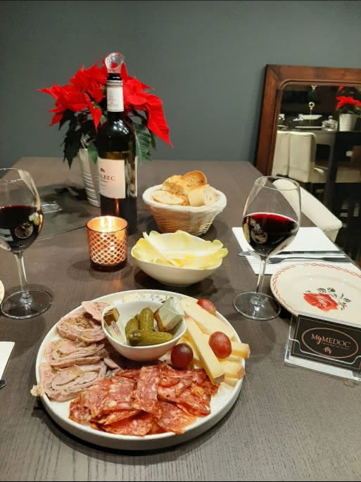 quatuor et vin rouge