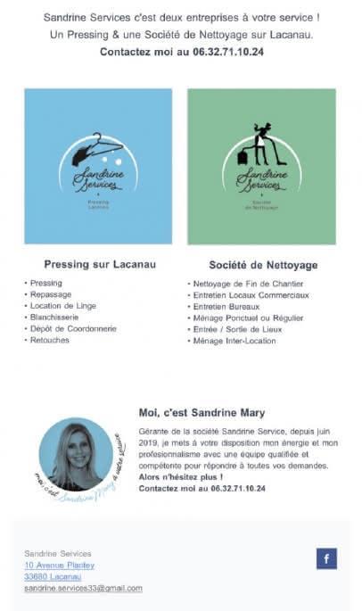 Pressing Sandrine Services 5