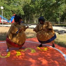 Les 3 Bandits - combat de sumos