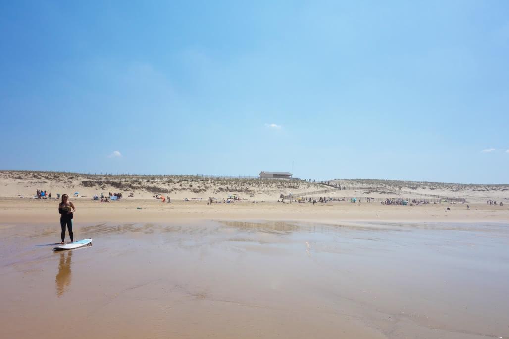 Plage-Nord-Lacanau------Medoc-Atlantique