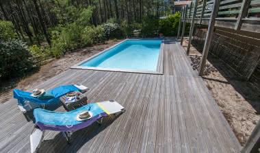 Villa pinède piscine golf PINEDE BAGANAIS2