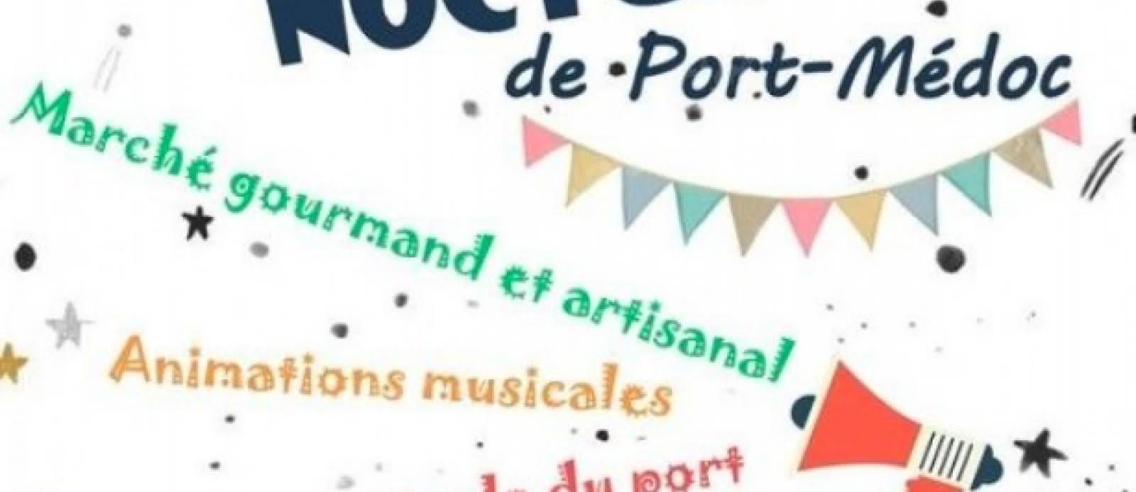Marché nocturnes à Port Médoc