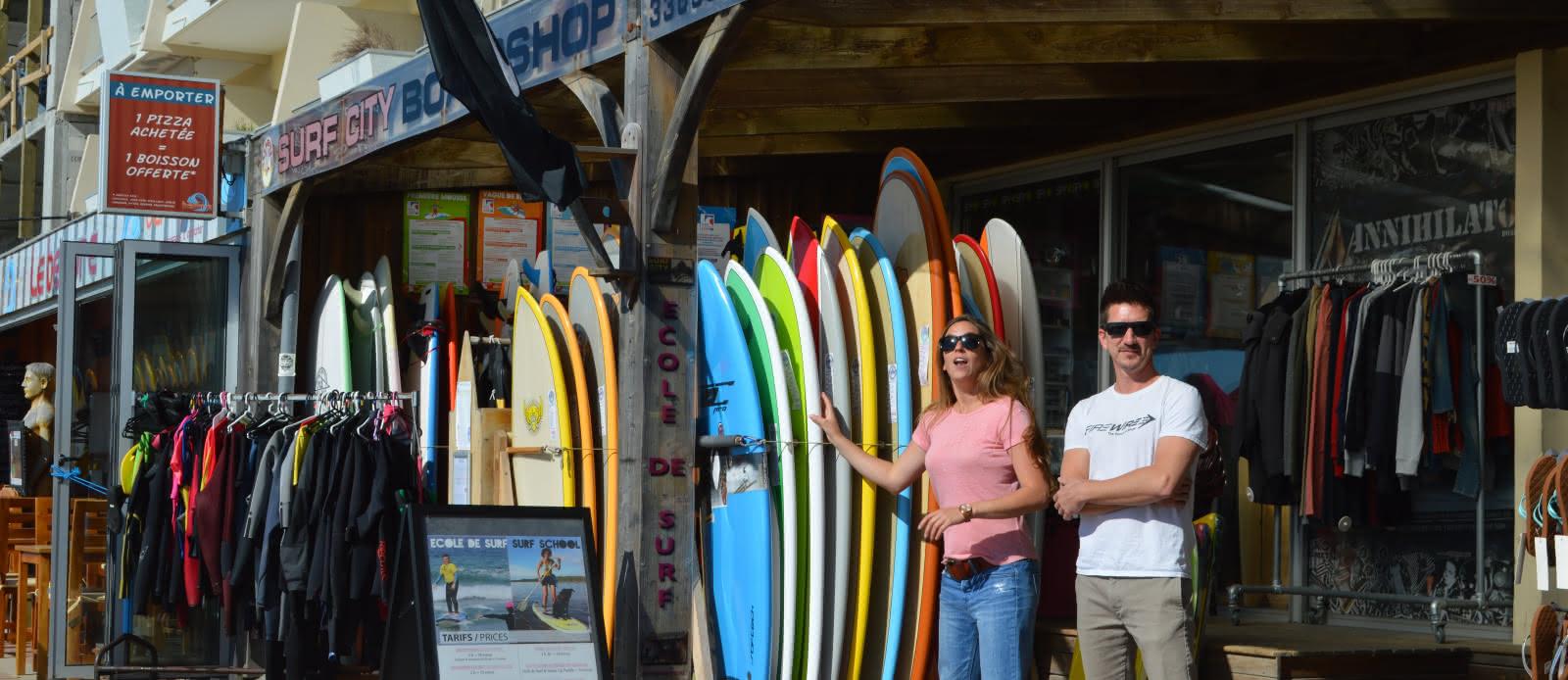 Commerces Lacanau Surf City